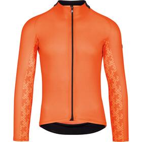 ASSOS Mille GT Maglia jersey a maniche lunghe Uomo, arancione
